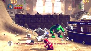 PS4 - How to get past Sandman's Wall in Lego Marvel Super Heroes