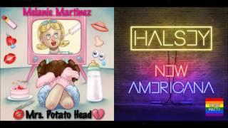 Melanie Martinez & Halsey - Mrs. New Americana (Mashup)