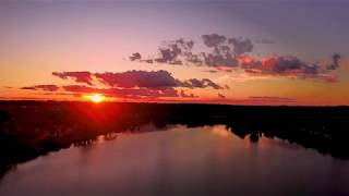 4K Sunset Time Lapse | Orange Park, FL| DJI Mavic Pro Drone Footage