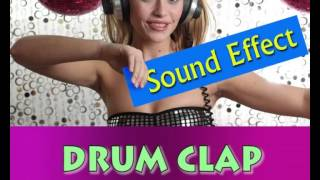 sound effect drum clap