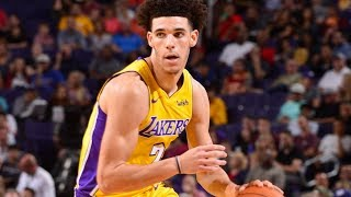 Lonzo Ball Bounces Back 2nd Game! 29 Pts 11 Rebs 9 Asts Lakers vs Suns 2017-18 Season