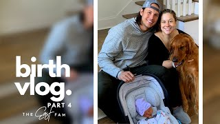 bringing newborn baby home from hospital   the east family