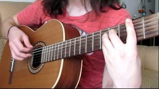 Michael Nyman-The Sacrifice (Cover guitarra acústica)