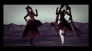 MMD The Zombie Song - Rin & Miku