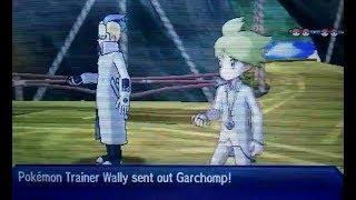 Pokémon Ultra Sun Moon Battle Tree Cynthia & Me vs Wally & Colress Super Multi Nintendo 3DS