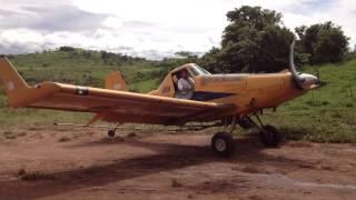 Veneno de Avião 02 - Limpando pasto - MT