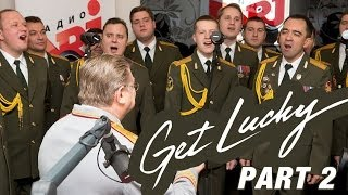 Russian Police & Simon - Get Lucky (cover Daft Punk)