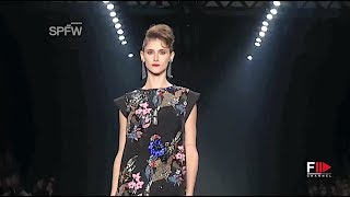 JULIANA JABOUR Fall 2016 Sao Paulo - Fashion Channel