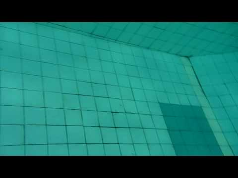 Chasing a Fish in a Swimming Pool