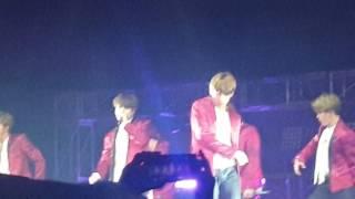 170507 Wings Tour in Manila - Cute V & JIN