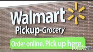 Drive-through Walmart