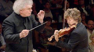 Brahms: Violin Concerto / Tetzlaff · Rattle · Berliner Philharmoniker