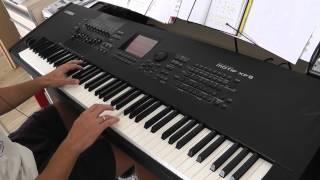 """Nik Kershaw """"The Riddle"""" on Yamaha Motif XF"""
