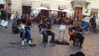 Metallica - 'Nothing Else matters' on Streets of Rome
