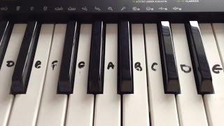 London Bridge is Falling Down -- Keyboard/Piano Tutorial EASY!