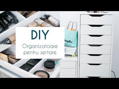 Cum sa iti faci organizatoare pentru sertare