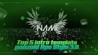 Top5 intro template ApoStyle (panzoid) 3.0