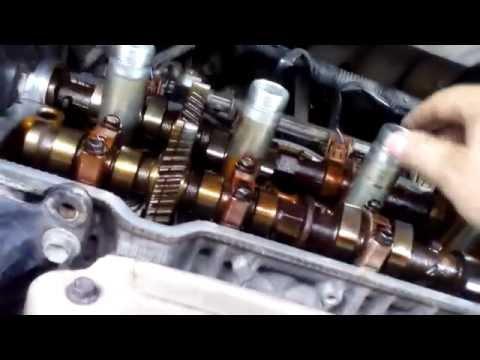Замена прокладки клапанной крышки на двс 5s-fe Toyota Harrier.