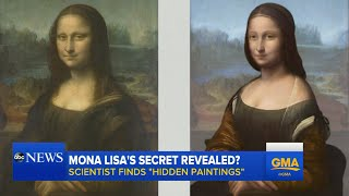 Hidden Portraits Found Under 'Mona Lisa' Painting
