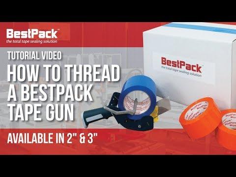 Cómo Enhebrar una Pistola de Cinta BestPack