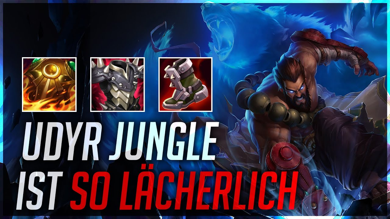 PlayersHUB - UDYR JUNGLE IST SO LÄCHERLICH! [League of Legends]