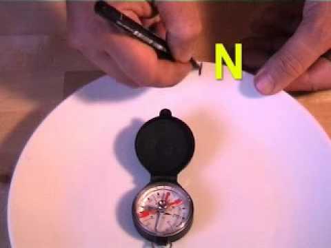Come fare una bussola in casa - 4 passi
