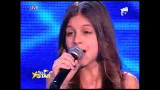 "Vanessa Marzavan - ""Silent Night"" - Next Star"