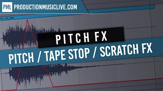 Ableton Quick Tip: Pitch / Tape Stop / Scratch Effect using Simple Delay