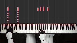 STAR WARS - Rogue One Trailer (Piano Cover) [easy]