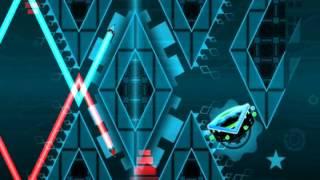 Geometry Dash Frozen Space (Very Hard Demon)
