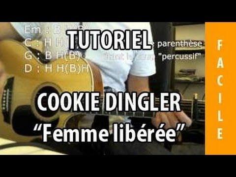 Comment jouer Femme Libérée de Cookie Dingler à la guitare
