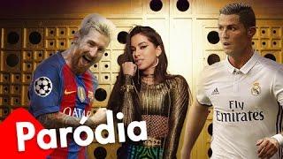 """Messi canta pra CR7 - Paródia  """"Sim ou Não"""" (Anitta)"""