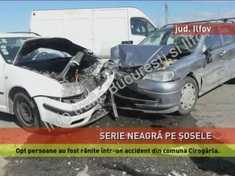 Accidente cumplite pe șoselele din țară