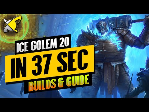 ICE GOLEM 20... IN 37 SEC !!! | Champion Builds & Guide | RAID: Shadow Legends