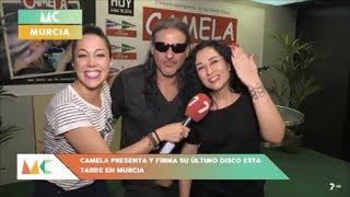 Camela presenta nuevo disco en Murcia