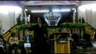 Thalita Pertuzatti na Assembleia de Deus de Madureira