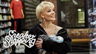 Halsey Goes Sneaker Shopping With Complex