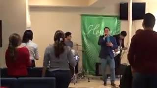 Hay libertad (Art Aguilera)One Way Band at Iglesia Conexión al Reino, MD