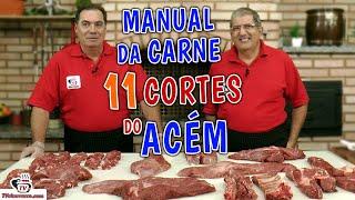 11 Cortes do Acém - MANUAL DA CARNE - CHUCK ROAST BEEF MANUAL - Tv Churrasco
