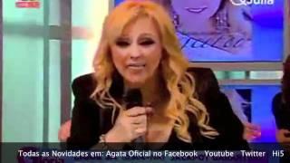 """Ágata Apresentação novo Album """"Ainda te Amo"""" Programa Querida Júlia Ultima Parte"""