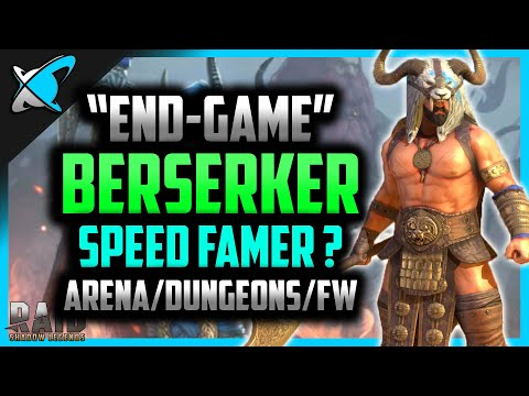 """End Game"" Berserker Build | Speed Farmer ? | Arena, Dungeons, FW | RAID: Shadow Legends"