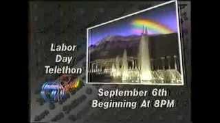 1987 KLTV Jerry Lewis Labor Day Telethon Promo