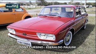 Exposição atrai os apaixonados por carros antigos