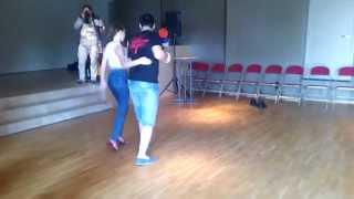 BSW III: Javi Adamas & Linda Horsta. Semba class demo. Tranbiqueiro - DJ Dias Rodrigues fr Kristo