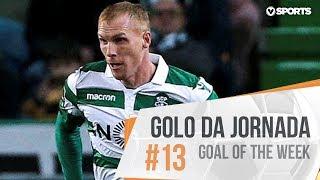 Goal | Golo Mathieu: Sporting (3)-2 Nacional (Liga 18/19 #13)