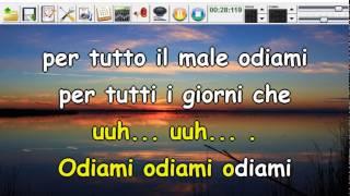 Modà - Odiami (Syncro by CrazyHorse1965) Karabox - Karaoke