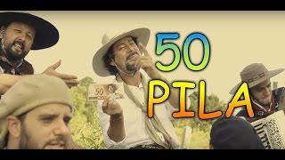 50 Reais (50 Pila Clip oficial - versão Gaúcha - Conjunto Fogo de Chão)