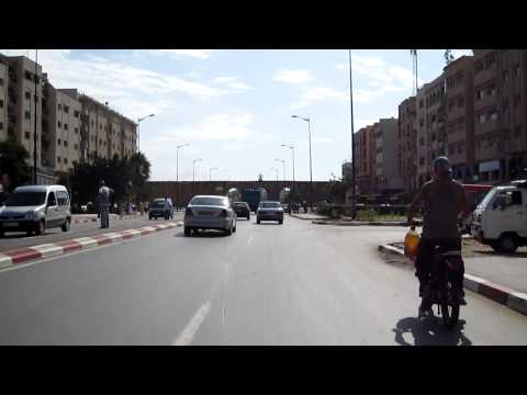 19. ATWJ – mhoey.eu/ Riding in center of Rabat, Morocco part 2