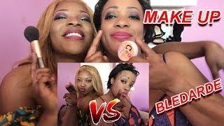 LE MAKE UP DE MAMAN VS MOI ( Make up à la blédarde VS contouring )