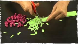 Gör en girlang av papper | Arlakadabra